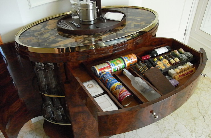 diy liquor cabinet hidden