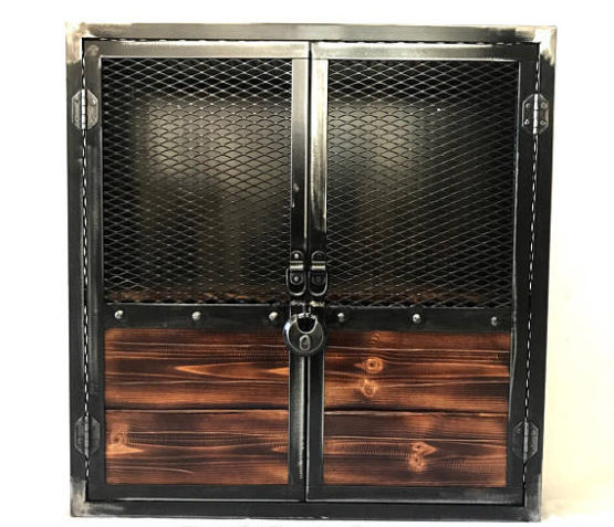 Wall Mounted Liquor Cabinet Locking