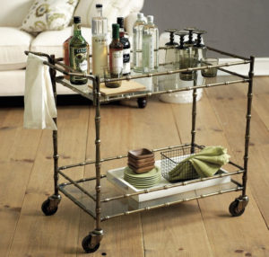 beverage cart beautiful