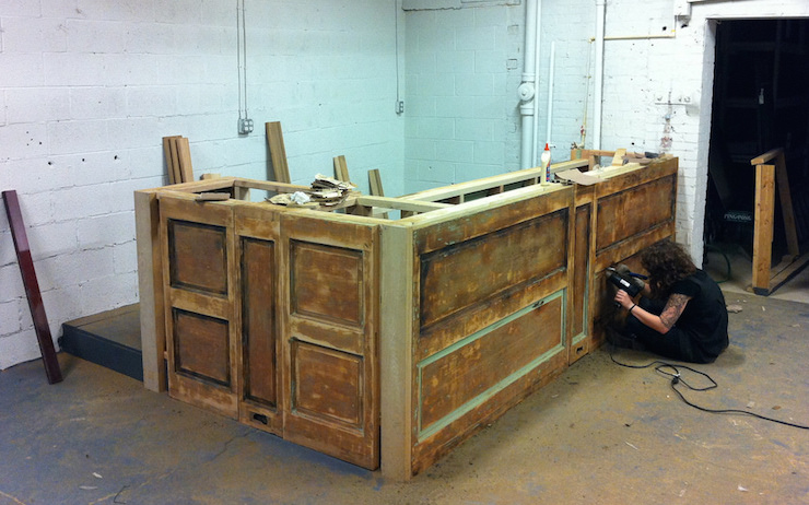 custom bars for homes construction